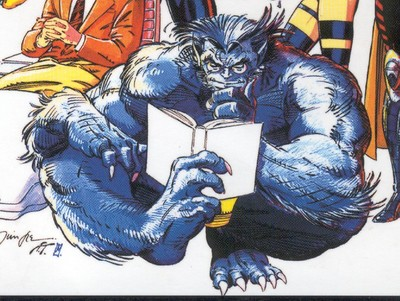 Jah's curious to the point of naivete, but exceptionally forward thinking, such as Marvel's Beast.