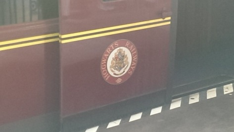We took the train from Hogwarts to King's Cross