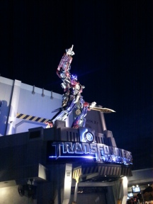 When I grow up, I want to be Optimus Prime.