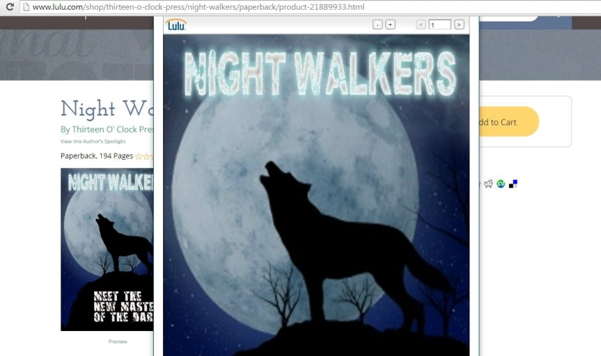 Night Walkers: A NaNoWriMo Success Story