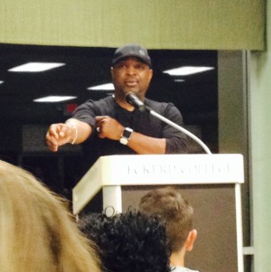 The leader of Public Enemy professes truths at Eckerd College