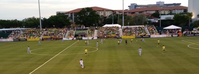 Guys in blue are Minnesota United FC. Final 0-0.