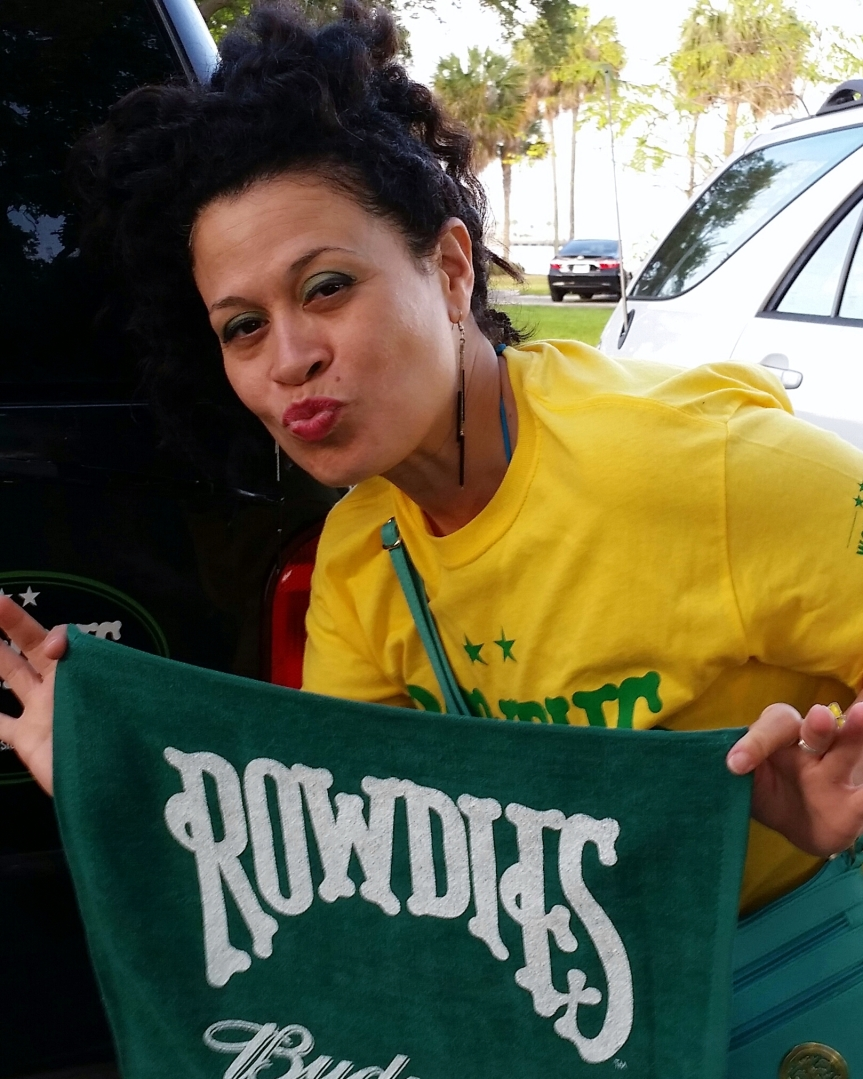 Come On You Rowdies! Home Opener