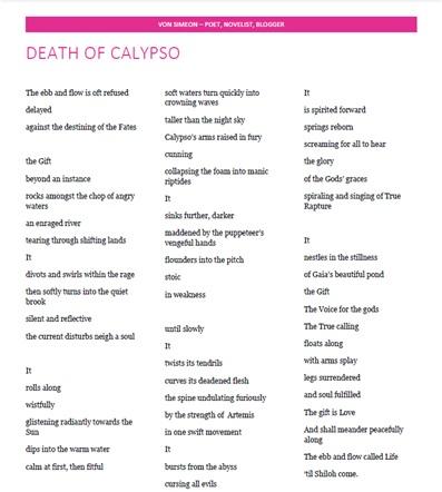 Death of Calypso