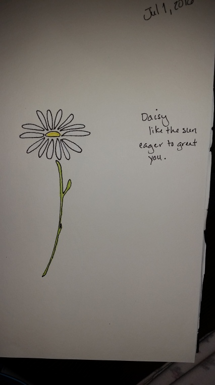 """Daisy"" 2016. Postcard material, amirite?"
