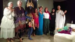 Yemoya, Hecate, Kali, Ix Chel, Inanna, Brigid, Persephone, and Enheduanna